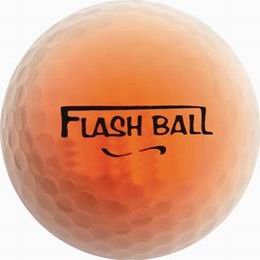 Svíticí golfové míèky Flash Balls, 2ks v balení - zvìtšit obrázek