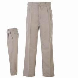 Kalhoty Dunlop Golf béžové, Velikost 36