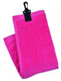 THREE FOLD TOWEL LADIES PINK