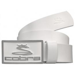 Cobra Enamel Golf Belt - bílý