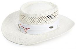 Greg Norman Straw Hat bílá