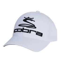 Cobra Tour Cap pro juniory bílá