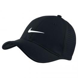 Nike Ultralight Perforated Junior Cap, èerná