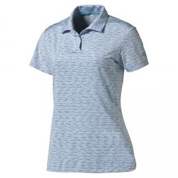 Puma W Space Dye Polo PC cool blue, Velikost XS, XL