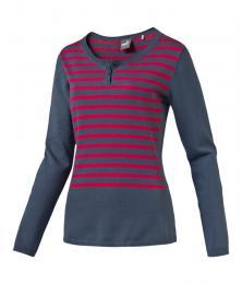 PUMA W Scoopneck Sweater bering sea, Velikost S, M, L