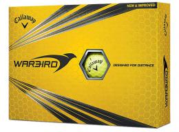 Callaway Warbird Golf Balls YELLOW 2017