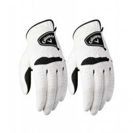 Callaway Xtreme 365 Golf Gloves pro leváky (2 Pack) pánská, Velikost M/L, L