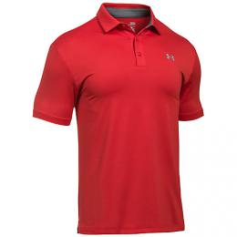 Under Armour Playoff Golf Polo RED/STEEL, Velikost S, XL, XXL