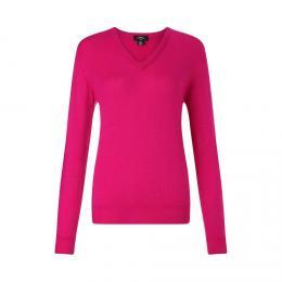 Callaway Ladies V-Neck Merino Sweater, velikost S