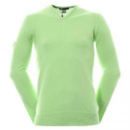 Callaway Golf Chev Cotton svetr Opaline Green, Velikost L