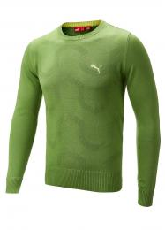 PUMA Golf Knited Sweater LINDEN GREEN, velikost S
