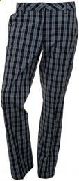 TOMMY HILFIGER Arielle Golf Pants Ladies kárované, Velikost 10 UK