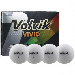 Volvik VIVID Ball WHITE