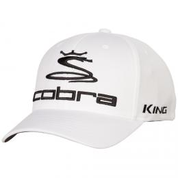 Cobra Pro Tour Cap WHITE/BLACK