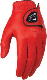 Callaway Opti Color pánská golfová rukavice RED, velikost S, M/L, L, XL