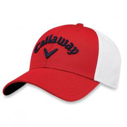 Callaway Mesh Fitted Cap RED/WHITE