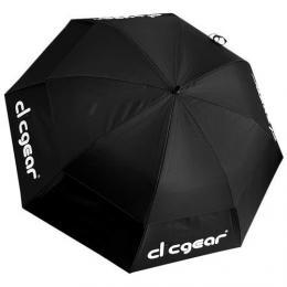 """Clicgear 68"""" Double Canopy deštník, èerný - zvìtšit obrázek"""