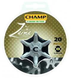 CHAMP ZARMA TOUR SPIKES 20Pk Pins-System