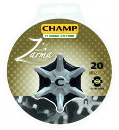 CHAMP ZARMA SPIKES 20Pk Pins-System
