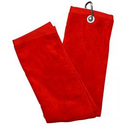 LUXURY THREE FOLD TOWEL - RED