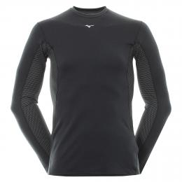 Mizuno Breathe Thermo Baselayer BLACK, Velikost M,XL