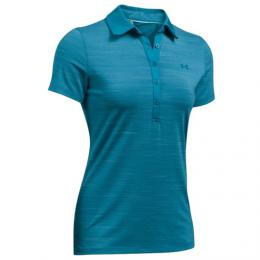 Under Armour Ladies Zinger SS Golf Polo Petrol,  velikost M