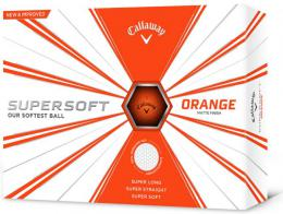 Callaway SUPERSOFT matte finish 2019 ORANGE