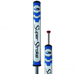 Super Stroke FLATSO 3.0 PUTTER GRIP s COUNTERCORE - BLUE/WHITE