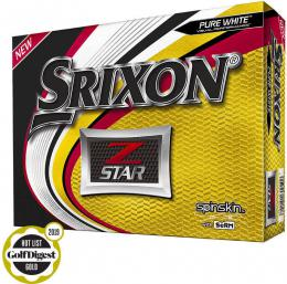 Srixon Z-Star6 Golf Balls WHITE