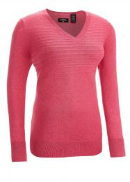 CALLAWAY GOLF LADIES JASPER SWEATER  DONEGAL PINK, velikost S, M