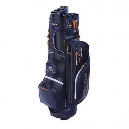 Big Max Cart Bag Dri Lite Silencio NAVY/ORANGE