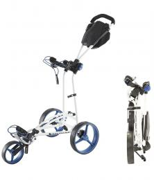 Big Max Trolley Autofold FF Trolley White/Cobalt/Black
