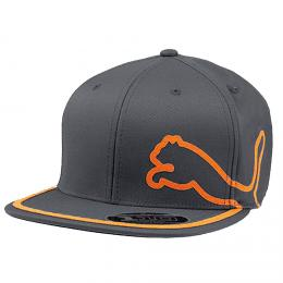 PUMA JUNIOR PRO MONOLINE SNAPBACK GOLF CAP Darkgray/orange