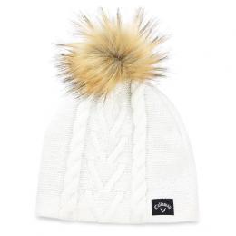 Callaway Pom Pom Beanie dámská zimní èepice WHITE - zvìtšit obrázek