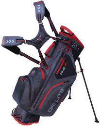 Big Max Dri Lite Hybrid Char/Blk/Red Stand Bag