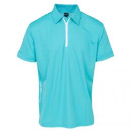 GALVIN GREEN MALCOLM POLO SHIRT Curacao/White, Velikost L, XL