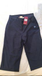 LADIES DUNLOP NAVY CASUAL GOLF 3/4 SHORT TROUSER, velikost XS