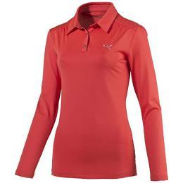 PUMA Ladies Sport Woven Longsleeve Polo Cayenne, Velikost XS, S, XL - zvìtšit obrázek