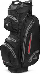 Callaway Hyper Dry 15 Cart Bag Black/Charcoal/Red