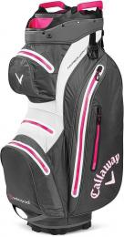 Callaway Hyper Dry 15 Cart Bag Charcoal/White/Pink