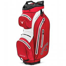 Callaway Hyper Dry 15 Cart Bag 2020 Red/White/Black