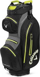 Callaway Hyper Dry 15 Cart Bag 2020 Black/Flash Yellow - zvìtšit obrázek