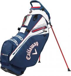 Callaway Hyper Dry 14 Stand Bag  Navy/White/Red