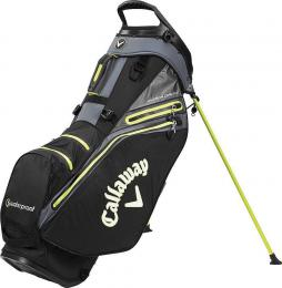 Callaway Hyper Dry 14 Stand Bag  Black/Charcoal/Yellow