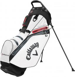 Callaway Hyper Dry 14 Stand Bag 2020 White/Black/Red