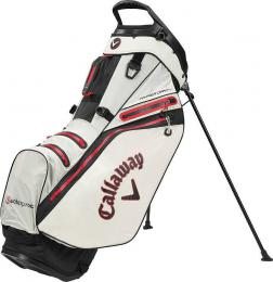 Callaway Hyper Dry 14 Stand Bag 2020 Stone/Black/Red