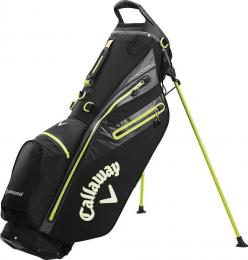Callaway Hyper Dry C Stand Bag 2020 Black/Charcoal/Yellow - zvìtšit obrázek