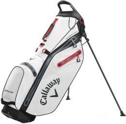 Callaway Hyper Dry C Stand Bag 2020 White/Black/Red - zvìtšit obrázek