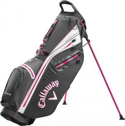 Callaway Hyper Dry C Stand Bag 2020 Charcoal/White/Pink