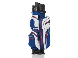 JuCad Manager Dry Cart Bag BLUE/WHITE/RED
